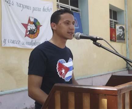 Jóvenes manzanilleros ratificarán respaldo a la Revolución y Fidel