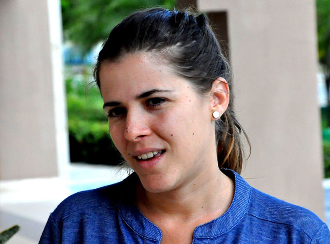 Destaca teatróloga Dania del Pino importancia de Filtro de campaña