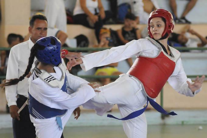 Con el segundo lugar en esta edición, el taekwondo demostró que es una de las disciplinas con mejor trabajo en la provincia / Foto Luis Carlos Palacios Leyva