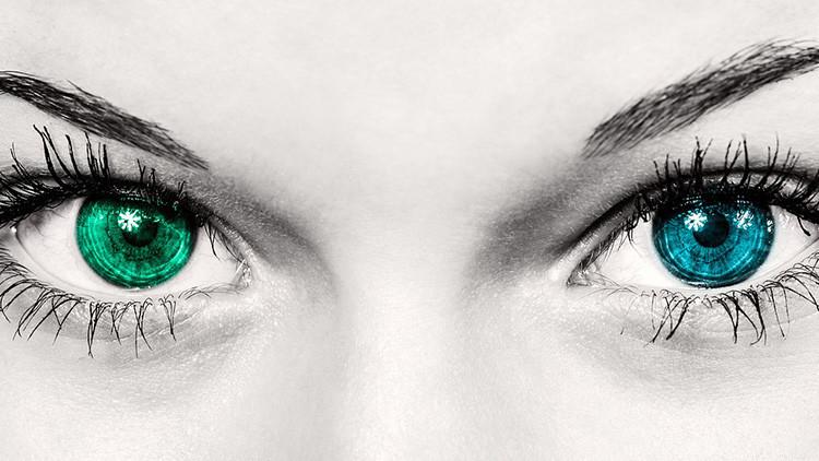 Descubren una mujer con una visión sobrehumana