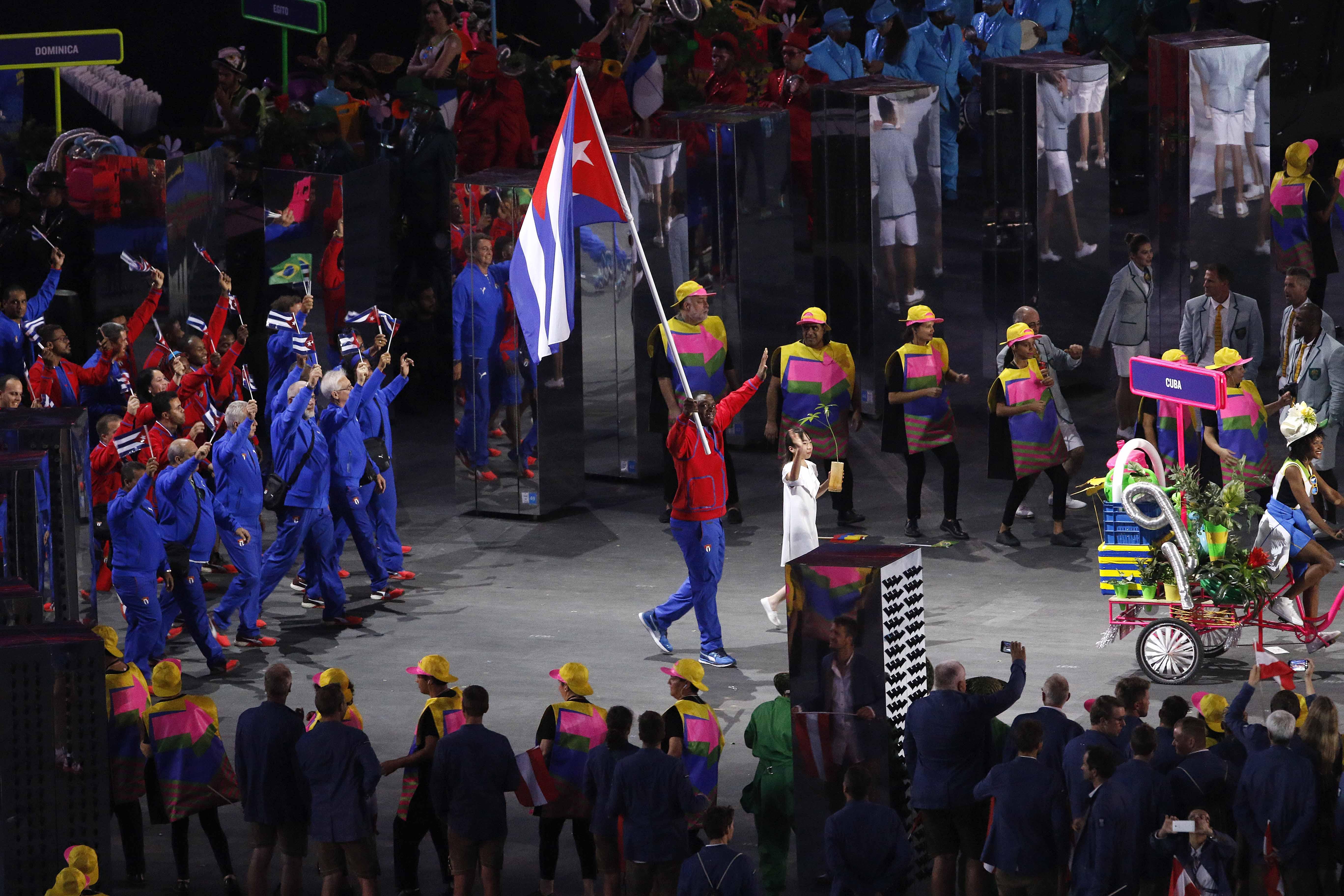 BRASIL-DELEGACION DE CUBA-JUEGOS OLÍMPICOS DE RIO DE JANEIRO