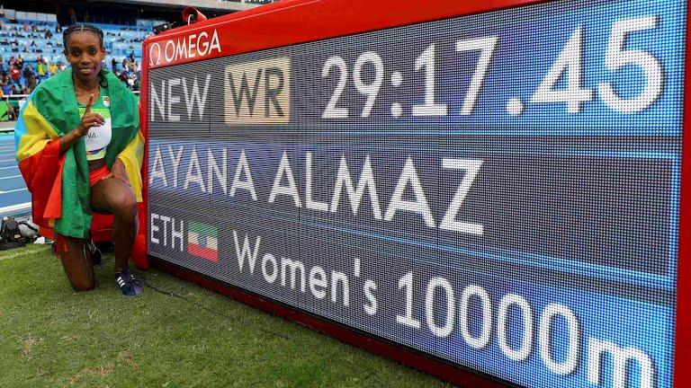 Río 2016: etíope Ayana rompe añejo récord mundial en atletismo