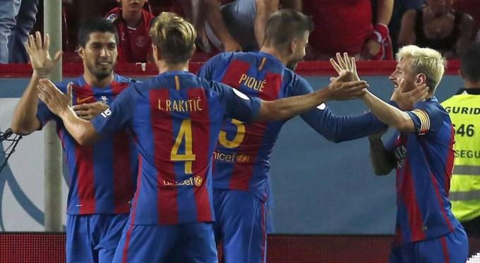 Barcelona campeon super copa de españa