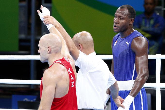 Sábado oscuro sobre el ring olímpico