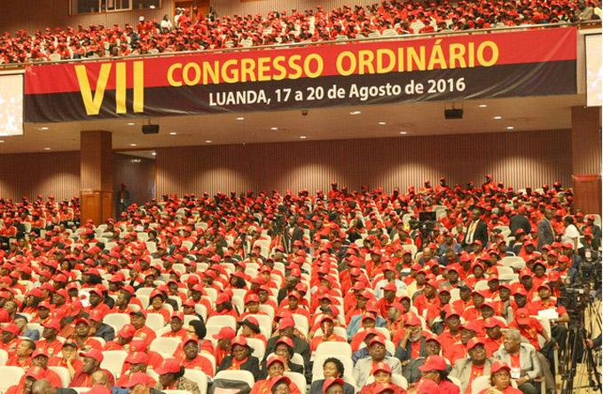 Congreso MPLA, Angola