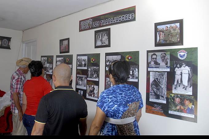 Festejan en la CTC de Granma cumpleaños 90 de Fidel