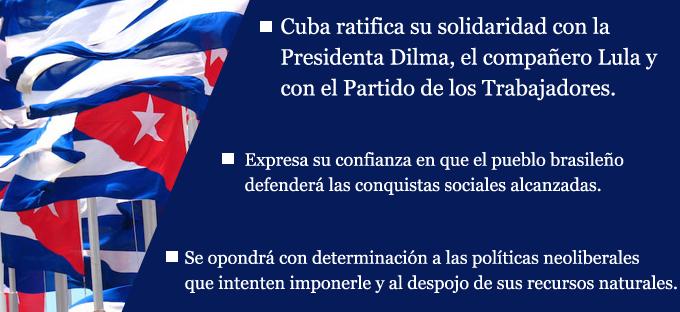 Declaración del Gobierno Revolucionario (+ video)
