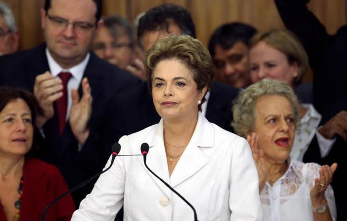 Golpistas tendrán la más firme y determinada oposición, Dilma