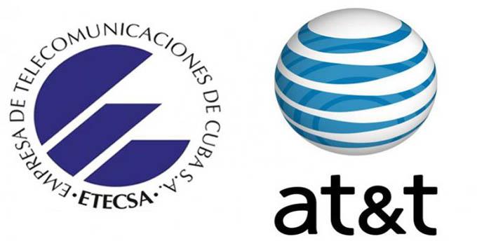 Firman acuerdos ETECSA y compañía estadounidense AT&T