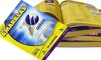 Inscripción gratuita en páginas Amarillas de ETECSA