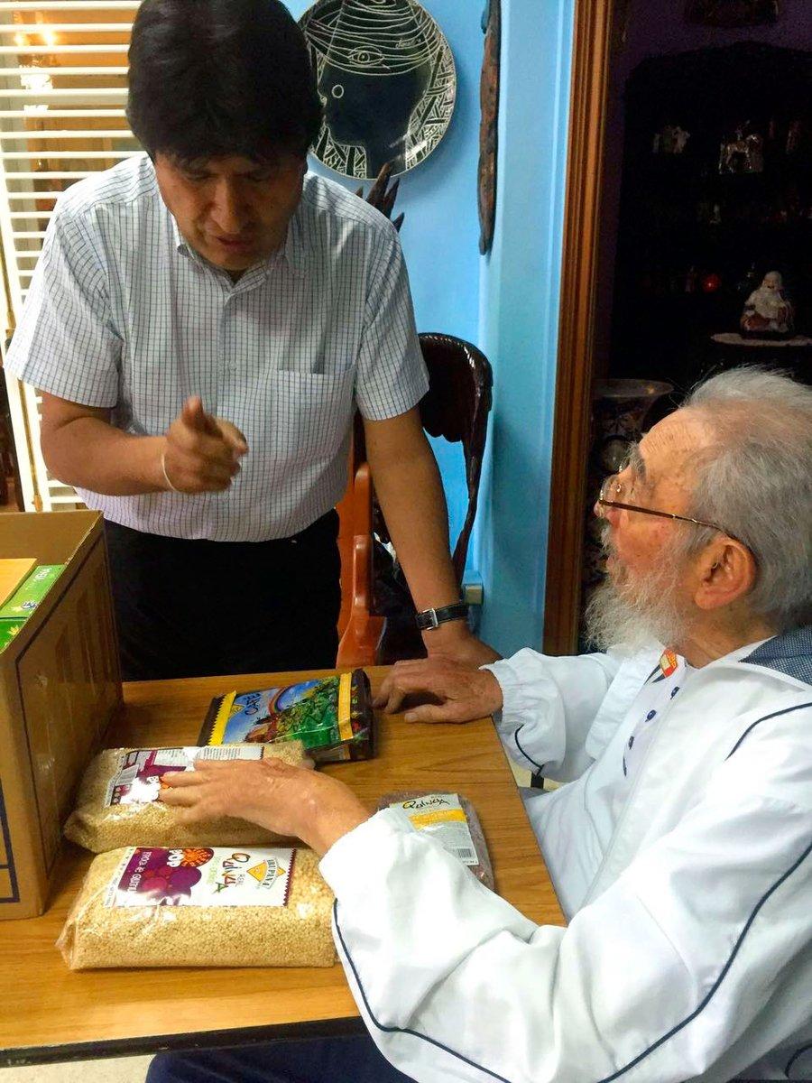 Evo y Fidel 3