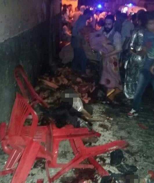 Explosión en boda en Turquía 1