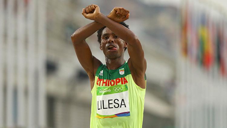 Feyisa Lilesa es el atleta más valiente de las Olimpiadas