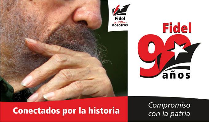 Los manzanilleros festejan con variadas actividades los 90 años de Fidel