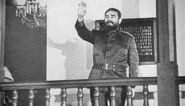 Gracias Fidel, le dice el pueblo de Santiago de Cuba