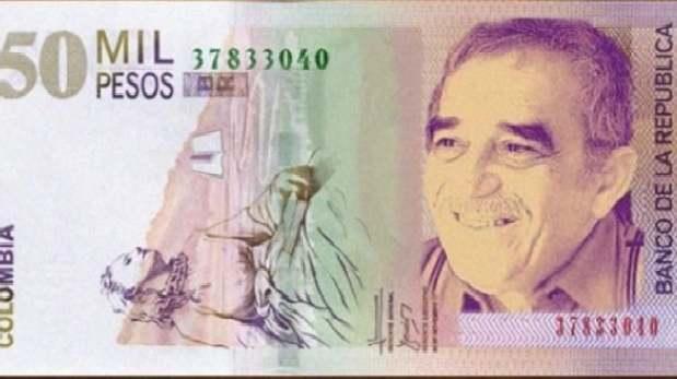 Lanzan billete con imagen del nobel Gabriel García Márquez