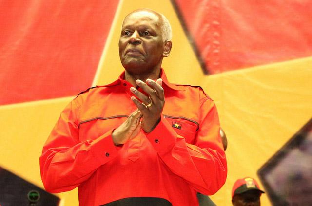José Eduardo Dos Santos, Presidente do MPLA
