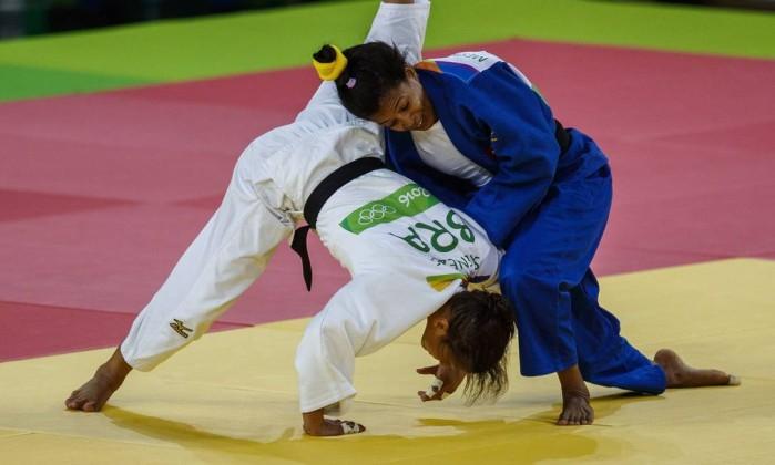 Judoca cubana Mestre en semifinales de Juegos Olímpicos