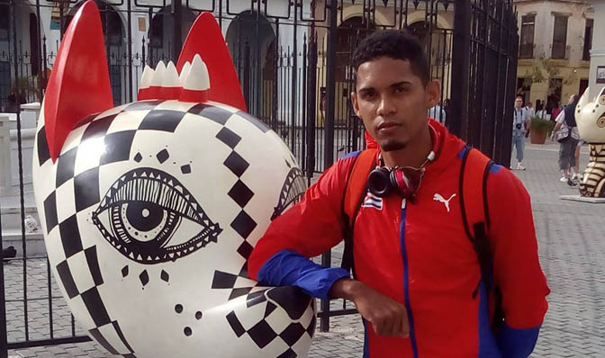 Leandro Zamora, Cuba Atletismo
