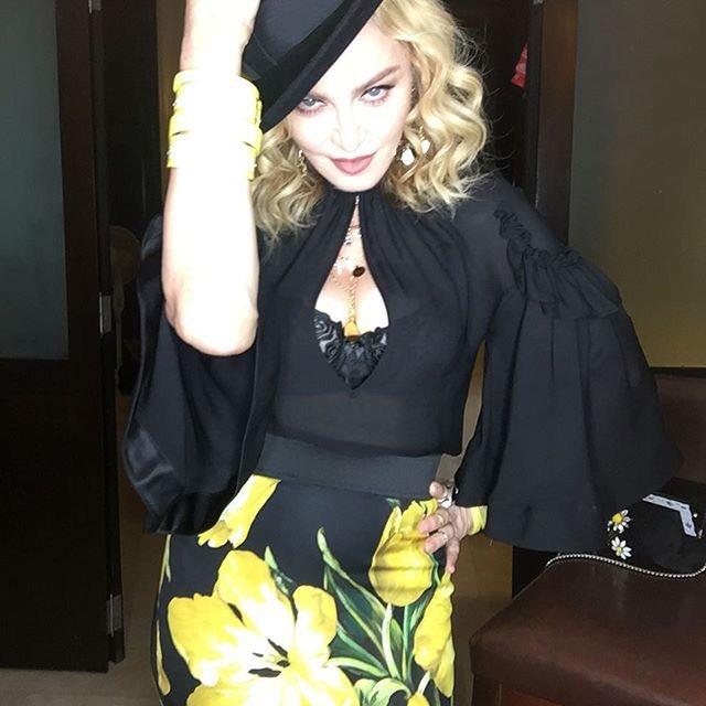 Madonna llega a Cuba