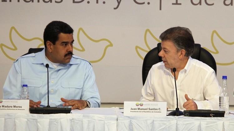 Maduro y Santos se reúnen para analizar el tema fronterizo ( fotos y video)