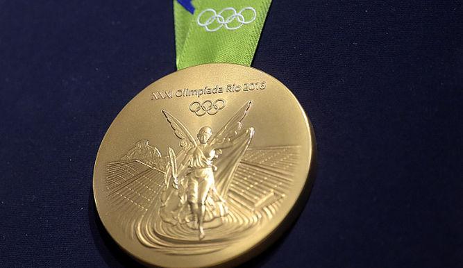 ¿Cuánto oro hay en las medallas de los Juegos de Río?