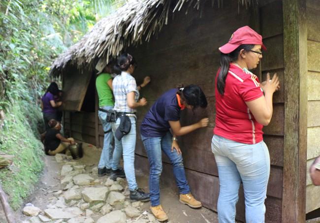 Estudiantes mexicanos, laboran en la conservación de la Comandancia de La Plata.
