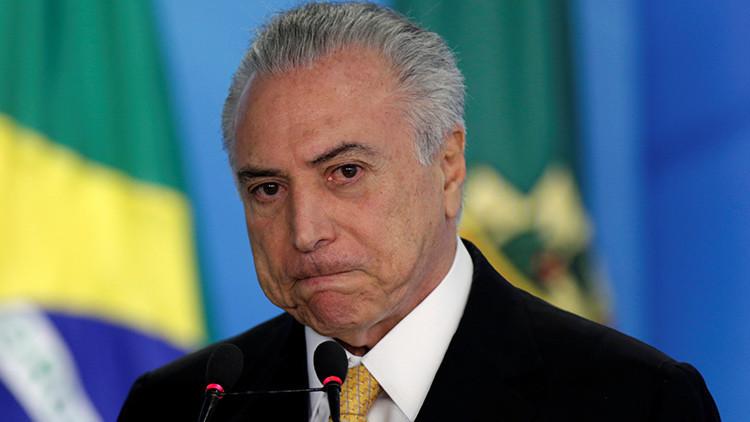 """La OEA pide explicaciones a Temer por el """"golpe"""" en Brasil"""