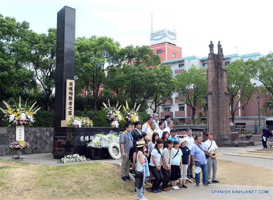 Nagasaki conmemora 71°aniversario de bombardeo atómico en medio de llamados a reflexionar sobre historia de agresión de Japón