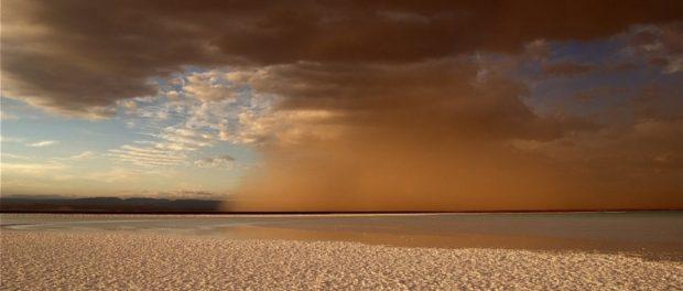 Muestran recorrido de 27 millones de toneladas de polvo del Sahara