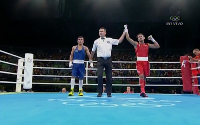Cubano Robeisy Ramírez avanza a la final en boxeo de los Juegos Olímpicos