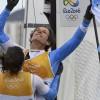Logra en Río el oro olímpico a los 54 años y con un pulmón operado