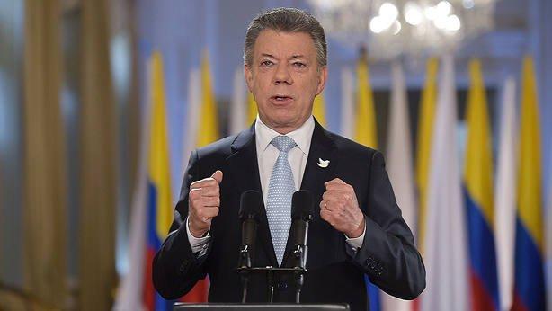 Plebiscito por la paz de Colombia será el 2 de octubre, asegura Santos