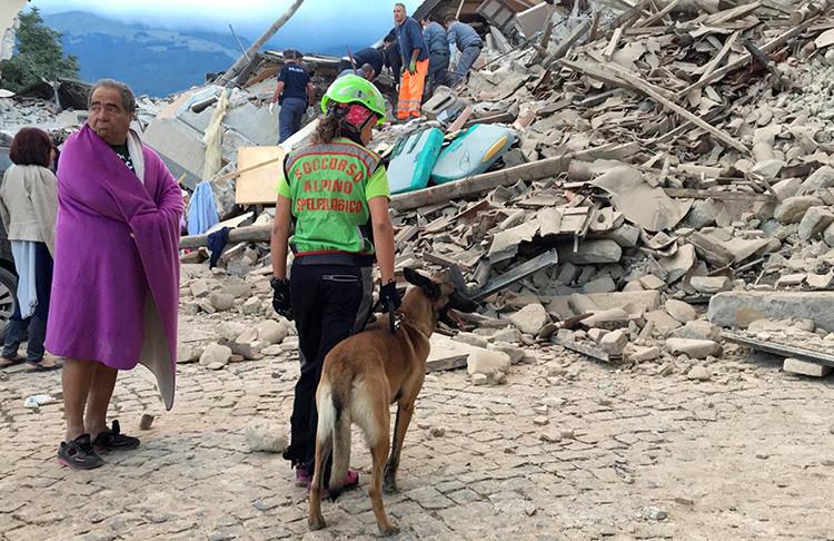 Terremoto Italia 1