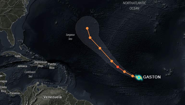 Se forma la séptima tormenta tropical en el Atlántico lejano