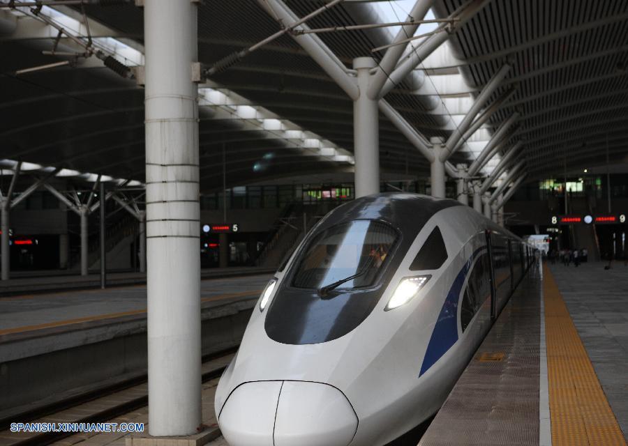 Comienzan a operar trenes bala de estándar chino