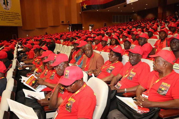VII Congreso MPLA, Angola