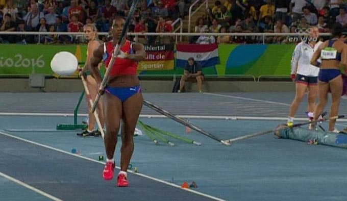 Yarisley Silva quedó fuera del podio en Río de Janeiro (+ videos)