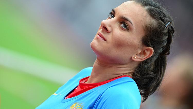 """""""Nunca perdonaré no haber sido admitida en las Olimpiadas"""", Isinbáyeva"""
