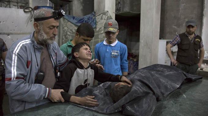Terroristas masacran a 40 personas en Alepo, Siria