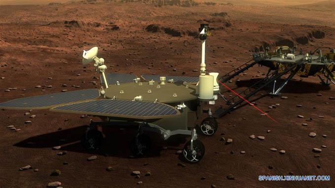 China da a conocer vehículo espacial para ambiciosa misión a Marte en 2020