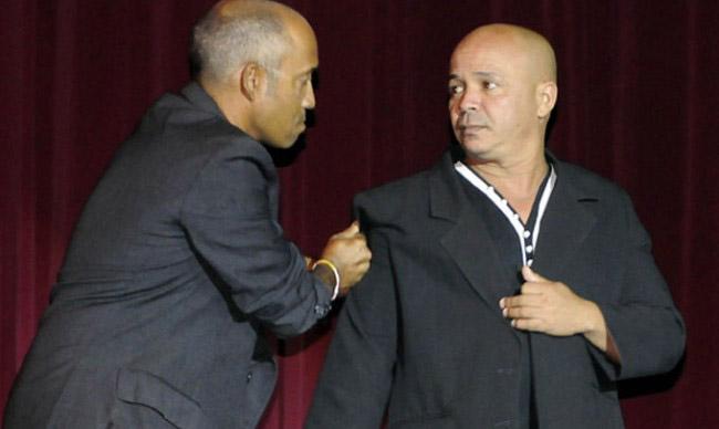 Actúa dúo humorístico Fonoceniz en cines de Granma