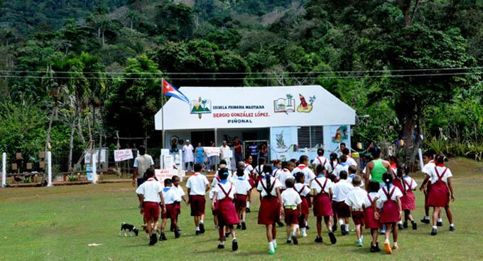 Funcionarán en Granma 24 escuelas primarias con baja matrícula
