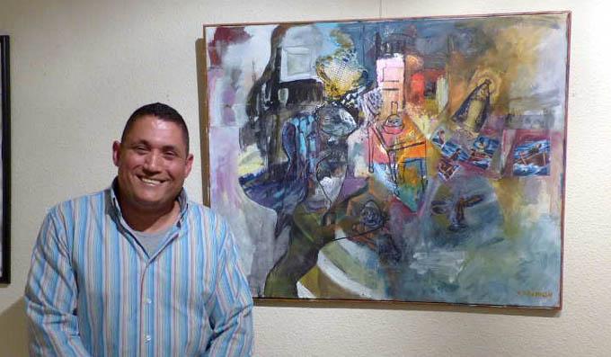 Premian en España a pintor cubano por universo cervantino de su obra