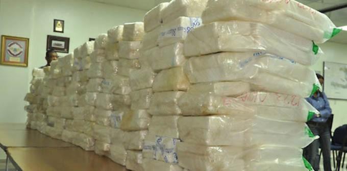 DNCD.Incauta 722 kilos de cocaina 03-07-2012 Foto:Saturnino Vasq