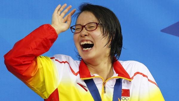 nadadora Fu Yuanhui