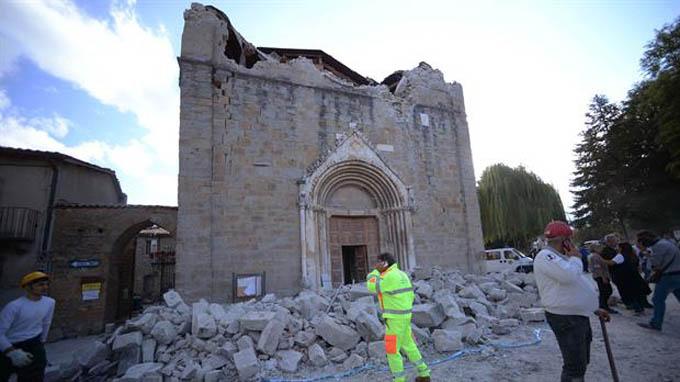 Terremoto en Italia provoca daños en el patrimonio cultural