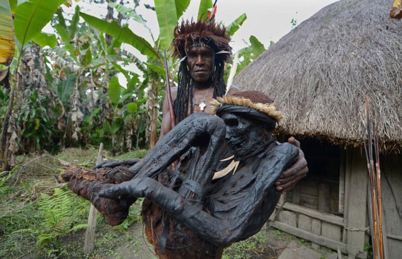 tribu de Papúa 1