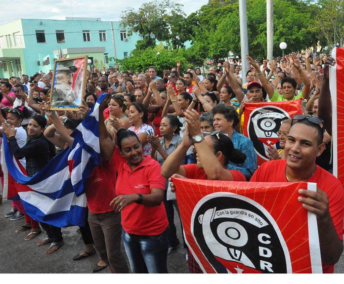 Festeja Granma la condición de vanguardia nacional de los CDR