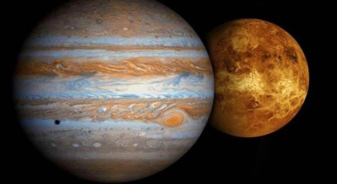 Protagonizarán Venus y Júpiter máximo encuentro planetario